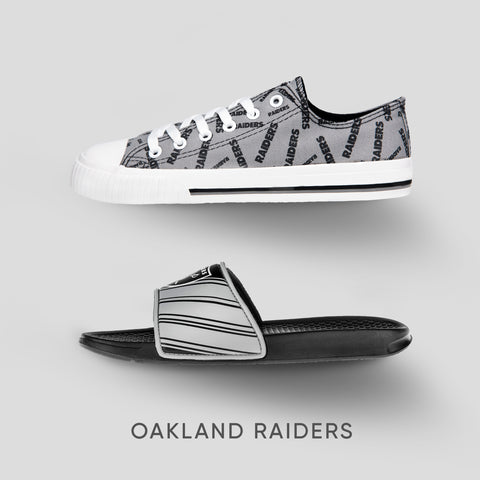 Oakland Raiders Footwear Collection