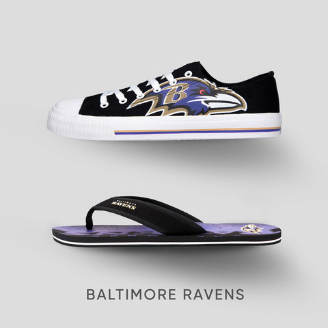 Baltimore Ravens Footwear Collection
