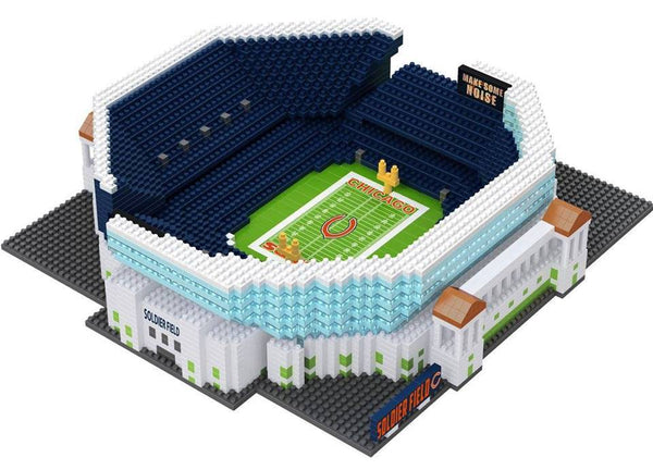 d246115a467 Chicago Bears NFL Soldier Field 3D BRXLZ Stadium Blocks Set