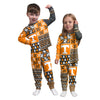 Tennessee Volunteers NCAA Busy Block Family Holiday Pajamas  (PREORDER - SHIPS LATE MID NOVEMBER)