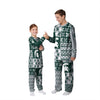 Michigan State Spartans NCAA Busy Block Family Holiday Pajamas  (PREORDER - SHIPS LATE NOVEMBER)