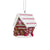 Alabama Crimson Tide Gingerbread House Ornament