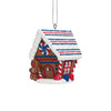 Ole Miss Rebels Gingerbread House Ornament