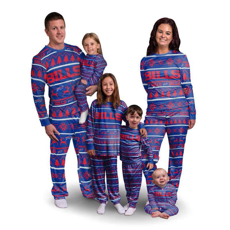 Buffalo Bills Nfl Family Holiday Pajamas