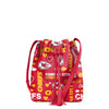 Kansas City Chiefs NFL Logo Love Cinch Purse (PREORDER - SHIPS LATE MAY)