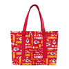 Kansas City Chiefs NFL Logo Love Tote Bag (PREORDER - SHIPS LATE MAY)