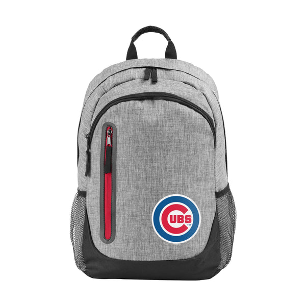 93e3d987f Chicago Cubs MLB Heather Grey Bold Color Backpack