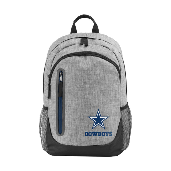 448259a0ee Dallas Cowboys NFL Heather Grey Bold Color Backpack