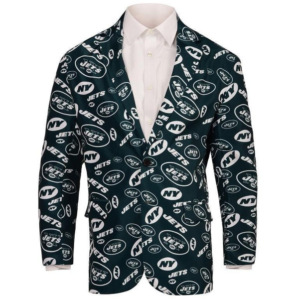 New York Jets 2016 NFL Mens Repeat Print Business Jacket
