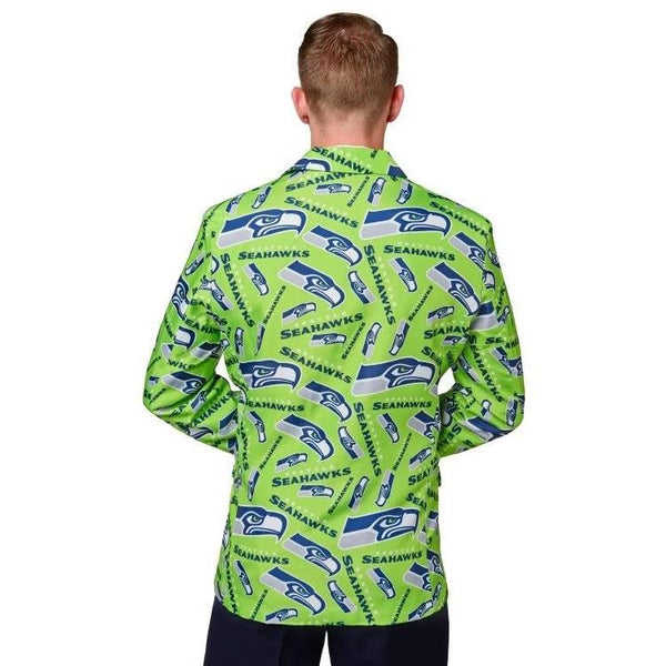 Seattle Seahawks 2016 NFL Mens Repeat Print Business Jacket
