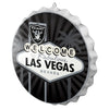 Las Vegas Raiders NFL City Series Bottle Cap Wall Sign