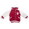 Indiana Hoosiers NCAA Fabric Varsity Jacket Ornament