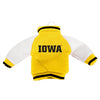 Iowa Hawkeyes NCAA Fabric Varsity Jacket Ornament