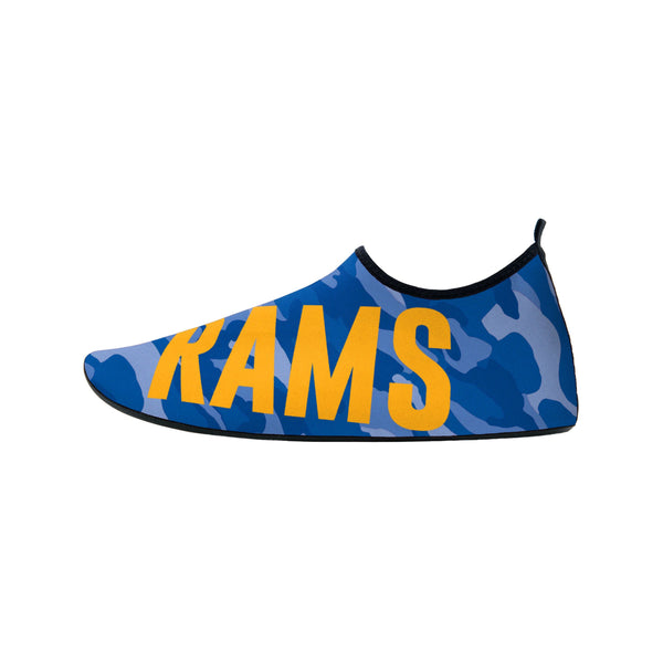 Mens Los Angeles Rams Patches Ugly Printed Tie
