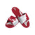 Alabama Crimson Tide NCAA Mens Colorblock Big Logo Gel Slides