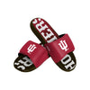 Indiana Hoosiers NCAA Mens Gradient Wordmark Gel Slide