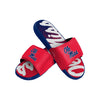 Ole Miss Rebels NCAA Mens Gradient Wordmark Gel Slide (PREORDER - SHIPS MID APRIL)