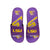 LSU Tigers NCAA Mens Wordmark Gel Slides