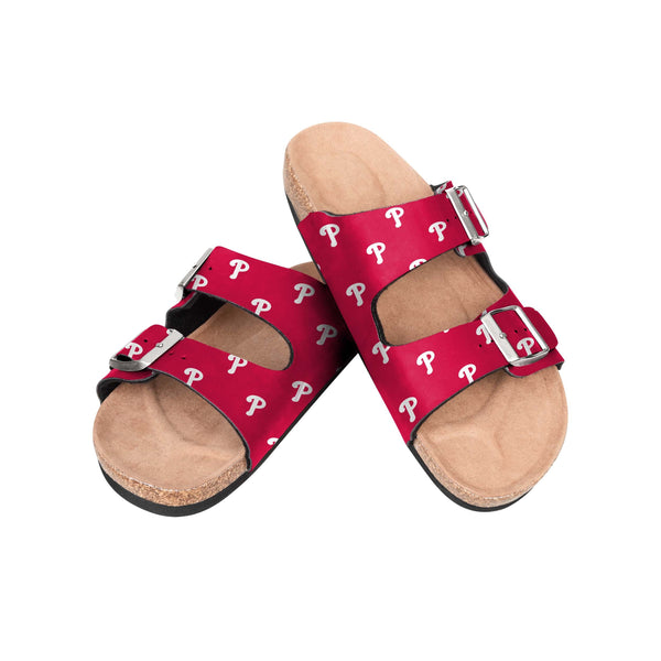 Philadelphia Phillies Team Color MLB Men/'s Moccasins Slippers FREE SHIPPING