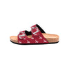 Alabama Crimson Tide NCAA Womens Team Logo Double Buckle Sandal