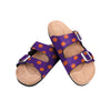 Clemson Tigers NCAA Womens Team Logo Double Buckle Sandal