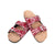 Alabama Crimson Tide NCAA Womens Mini Print Double Buckle Sandal