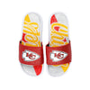 Kansas City Chiefs NFL Womens Glitter Gel Slide