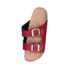 Tampa Bay Buccaneers NFL Womens Mini Print Double Buckle Sandal