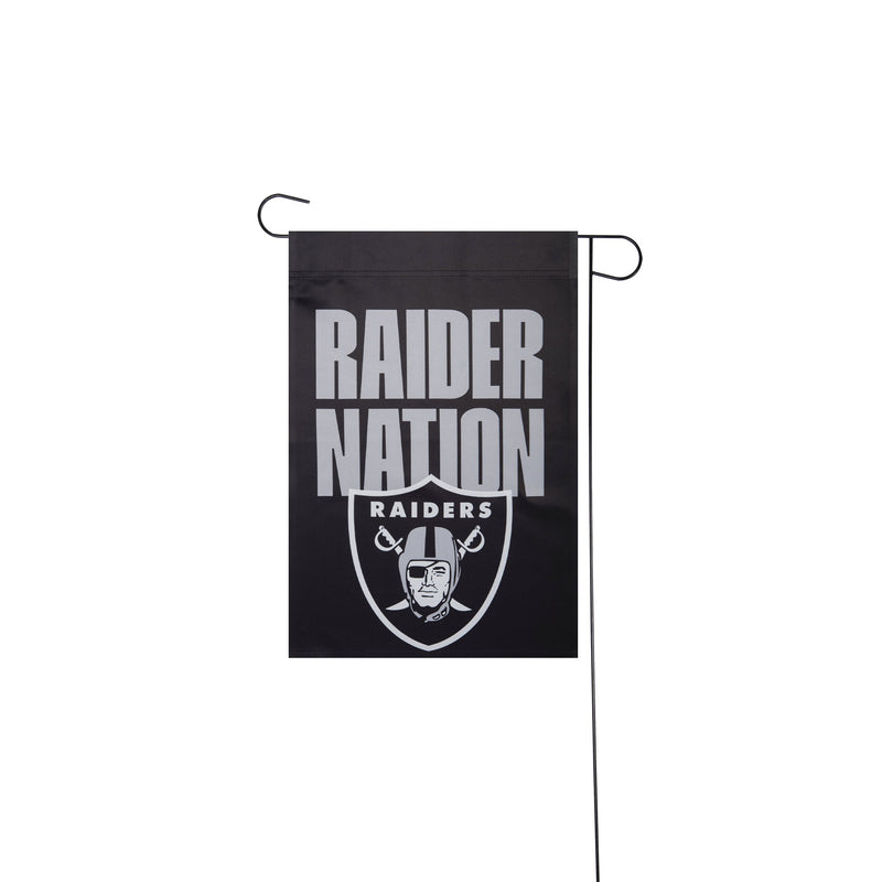 Las Vegas Raiders Nfl City Series Garden Flag