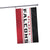 Atlanta Falcons NFL Horizontal Flag