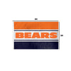 Chicago Bears NFL Horizontal Flag