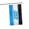 Carolina Panthers NFL Horizontal Flag