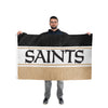 New Orleans Saints NFL Horizontal Flag