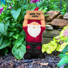 Arkansas Razorbacks NCAA Slogan Sign Mini Gnome