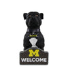 Michigan Wolverines NCAA American Staffordshire Terrier Statue