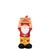 Kansas City Chiefs NFL Slogan Sign Mini Gnome
