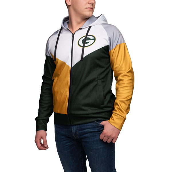 fcfc295c Green Bay Packers NFL Mens Hooded Track Jacket