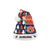 Auburn Tigers NCAA Busy Block Family Holiday Santa Hat