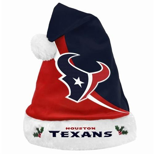 d1b2687fa5c NFL Swoop Logo Santa Hat Houston Texans