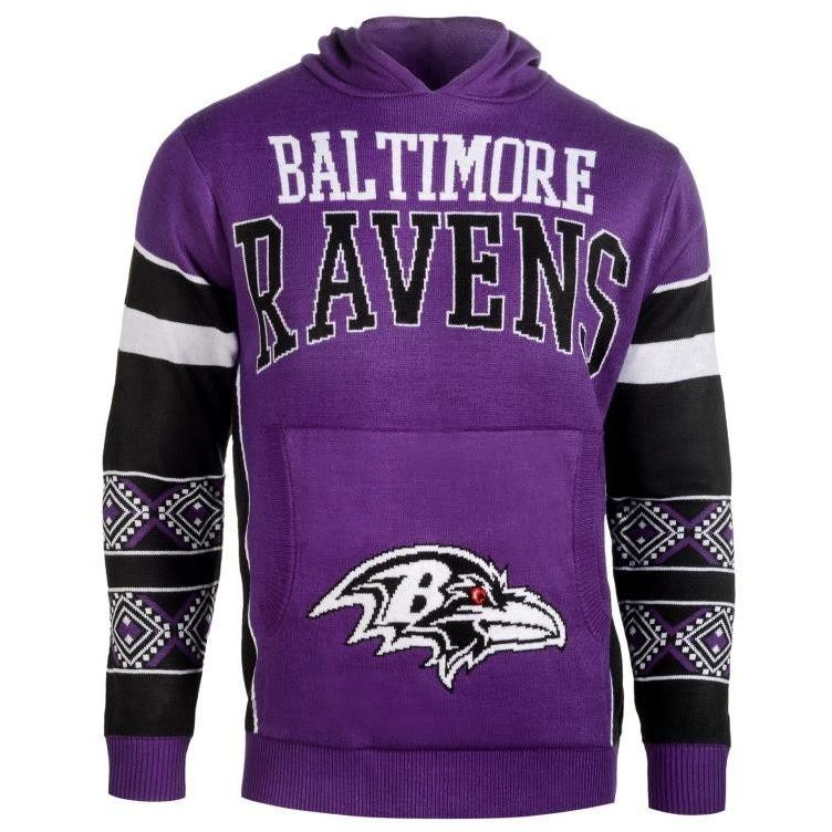 280155ee1 Baltimore Ravens Big Logo Hooded Sweatshirt