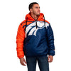 Denver Broncos NFL Mens Tundra Puffy Poly Fill Pullover