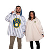 Milwaukee Brewers MLB Alternate Home Game Day Big Logo Hoodeez