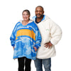 Los Angeles Chargers NFL Reversible Team Color Camo Hoodeez