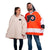 Philadelphia Flyers NHL Reversible Gameday Hoodeez