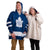 Toronto Maple Leafs NHL Reversible Gameday Hoodeez