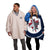 Winnipeg Jets NHL Reversible Colorblock Hoodeez