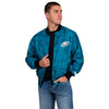 Philadelphia Eagles NFL Mens Camo Bomber Jacket