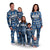 Los Angeles Chargers NFL Family Holiday Pajamas