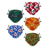 Animal Bright Pack Youth Adjustable 5 Pack Face Cover