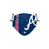 Atlanta Braves MLB On-Field Adjustable Blue Face Cover